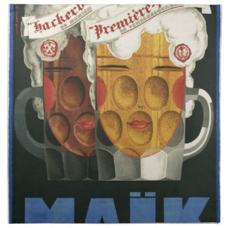 ursprüngliches französisches Bier Stoffserviette