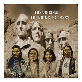 ursprüngliches Gründervaterplakat Poster