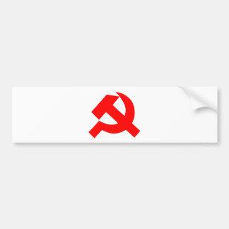 Ursprüngliches Hammer und Sichel die Sowjetunion Autoaufkleber