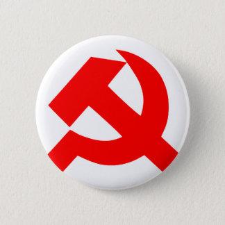 Ursprüngliches Hammer und Sichel die Sowjetunion Runder Button 5,1 Cm