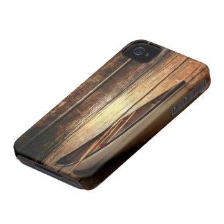 Ursprüngliches hölzernes Kornreflexion iPhone 4 Case-Mate Hülle