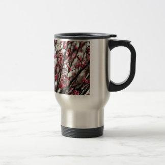 Ursprüngliches Kirschblüten-MakroFoto Kaffeehaferl