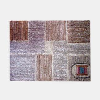 Ursprüngliches ledernes Teppichhandwerk Türmatte