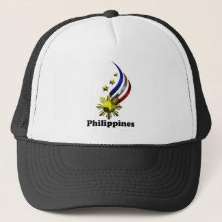 Ursprüngliches philippinisches Logo. Mabuhay Truckerkappe