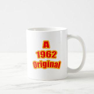 Ursprüngliches Rot 1962 Kaffeetasse