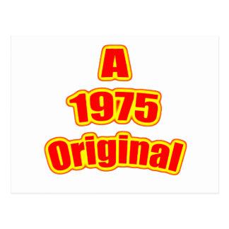 Ursprüngliches Rot 1975 Postkarte