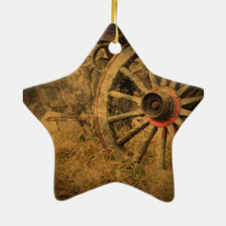 Ursprüngliches rustikales keramik ornament