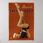 Ursprüngliches sicherer Hafen-Plakat