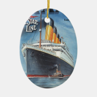 Ursprüngliches titanisches Vintages Plakat 1912 Keramik Ornament