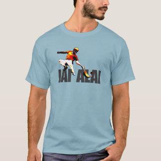 Ursprüngliches und auffallendes Jai Alai Logo, T-Shirt