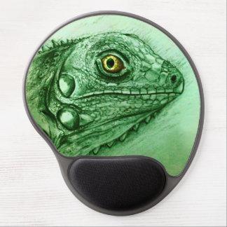 Ursprüngliches Vintages Kunstgel mousepad - Leguan