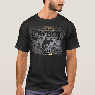 Ursprüngliches Westernland Pferdecowboyrodeo T-Shirt