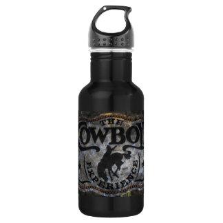 Ursprüngliches Westernland Pferdecowboyrodeo Trinkflasche