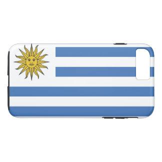 Uruguay-Flagge iPhone 8 Plus/7 Plus Hülle
