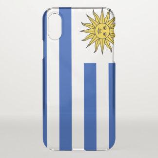 Uruguay-Flagge iPhone X Hülle