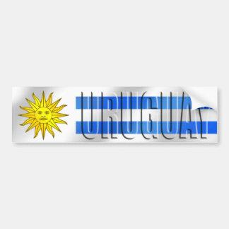Uruguay-Fußball-T - Shirts und -geschenke Autoaufkleber