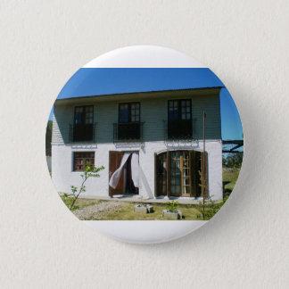 Uruguay-Hütten-Front Runder Button 5,1 Cm