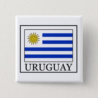 Uruguay Quadratischer Button 5,1 Cm