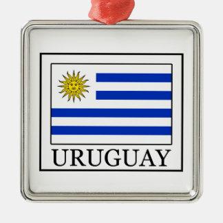Uruguay Silbernes Ornament