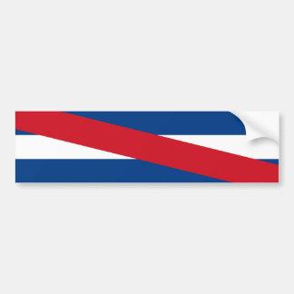 Uruguay/uruguayische Artigas Flagge Autoaufkleber