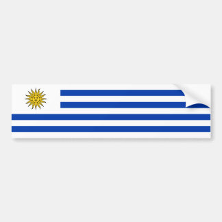 Uruguay/uruguayische Flagge Autoaufkleber