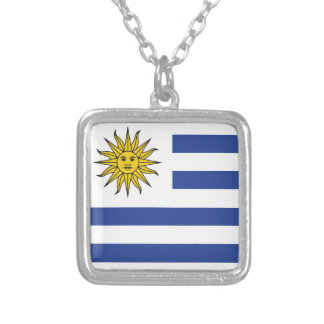 Uruguay Versilberte Kette