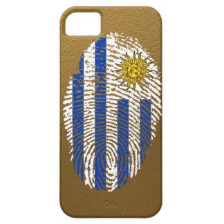 Uruguayische Touchfingerabdruckflagge Barely There iPhone 5 Hülle
