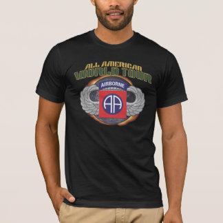 """US 82. IM FLUGZEUG Div. """"ALLE AMERIKANISCHEN"""" T-Shirt"""