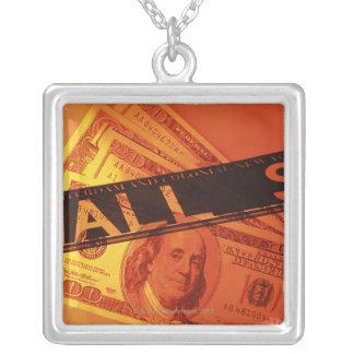 US-Banknoten, CG, Zusammensetzung Versilberte Kette