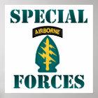 US-besondere Kräfte Poster