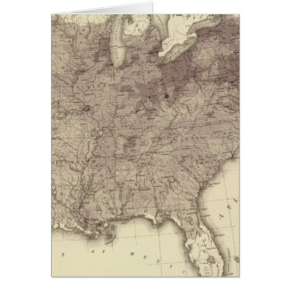US-Bevölkerung 1860 Karte