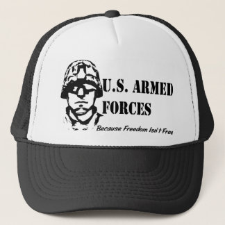 US-bewaffnete Kräfte Truckerkappe