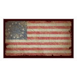 US-Flagge 1776 Posterdruck