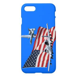 US-Flagge Aith A10 iPhone 8/7 Hülle