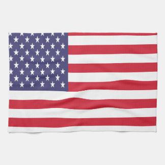 US Flagge-amerikanische Flagge Küchenhandtuch