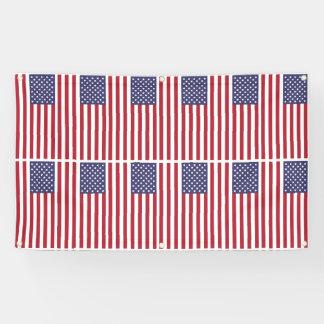 US-Flagge-Ebene Banner