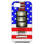 US Flagge-elektrische Gitarre Hülle Fürs iPhone 5