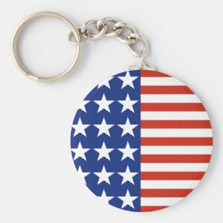 US Flagge-Flagge Keychain Schlüsselanhänger