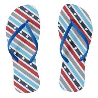 US Flagge Flip Flops