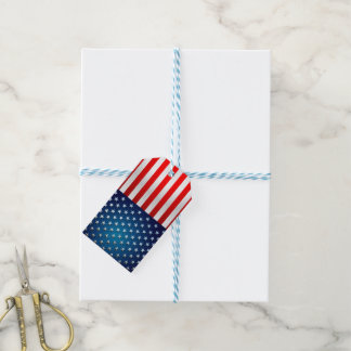 US-Flagge Geschenkanhänger