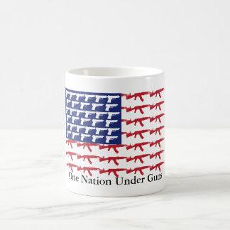 US-Flagge KEINE Gewehr-Kontrolle Kaffeetasse