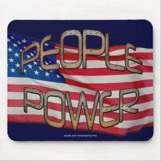 US-FLAGGE Leute-Power-Unabhängigkeits-Motivations- Mousepad