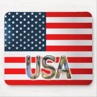 US-Flagge Mauspads