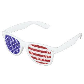US Flagge-Partyschatten Retro Sonnenbrillen