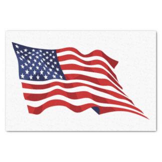 US Flagge Seidenpapier