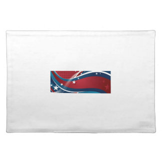 US Flagge Tischset