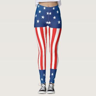 US Flagge USA Leggings