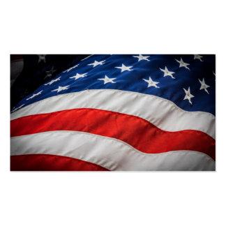 US Flagge Visitenkarten