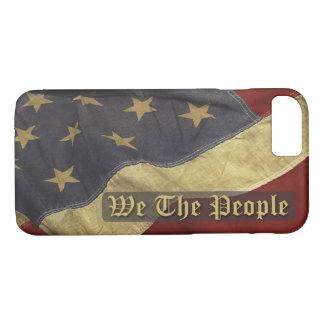 US-Flagge, wir der Leute iPhone 7 Fall iPhone 8/7 Hülle