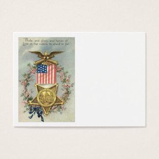 US-Flaggen-Gewerkschafts-ziviler Visitenkarte